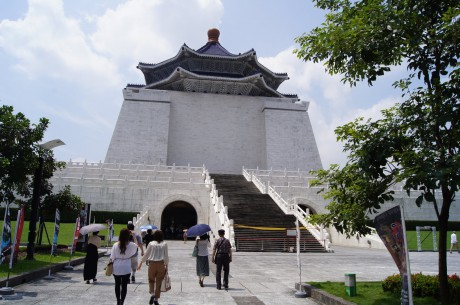 博物館併設の中正記念堂