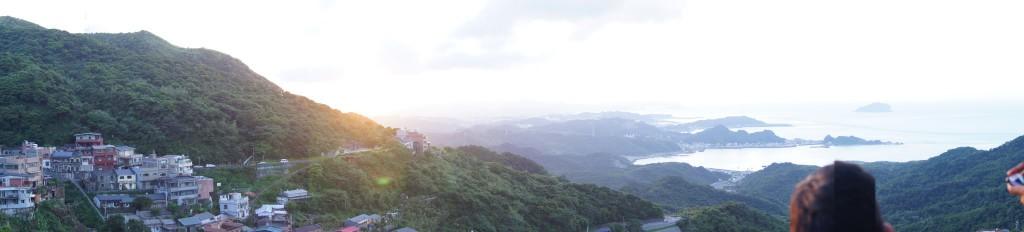 台北を望んだ景色は絶景!
