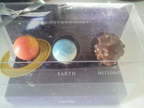 ミヤーマさんへの惑星チョコ