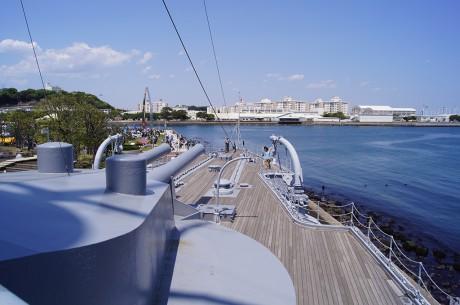 艦橋からの風景