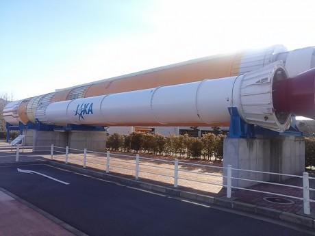 jaxaの宇宙ロケットが展示!