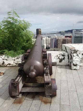 マカオ ギア要塞の大砲