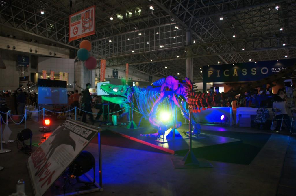 タルボサウルスの化石(国立科学博物館所蔵)が展示中!