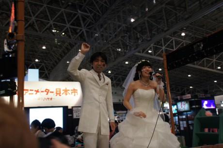 超ニコニコ結婚式!新郎39歳男性と新婦17歳女子という衝撃カップル!