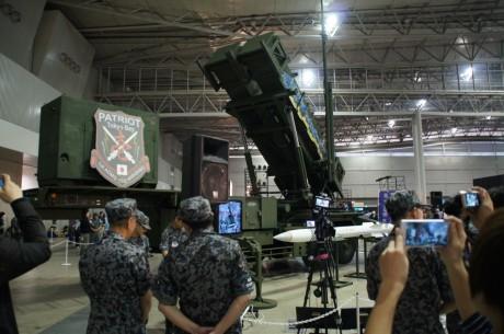 航空自衛隊が所有する「ペトリオットシステム発射機」