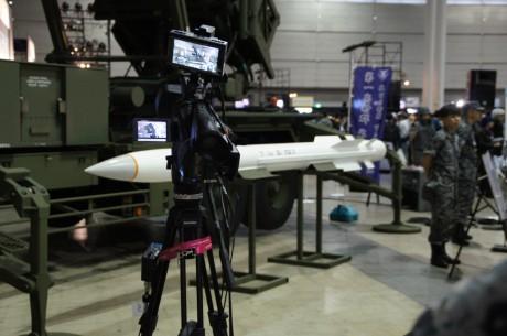 全長5メートルの「PAC-3 ミサイル」