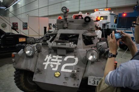 特車二課の98式特型指揮車
