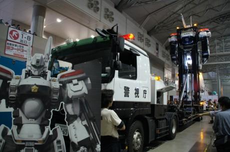 99式大型特殊運搬車がレイバーをデッキアップ!