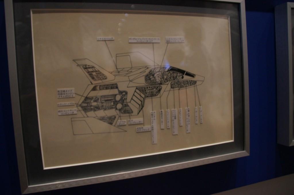 コアファイターの内部構造