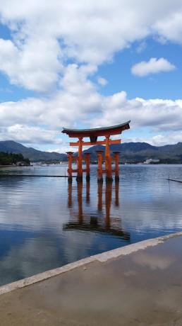 これが水上の厳島神社