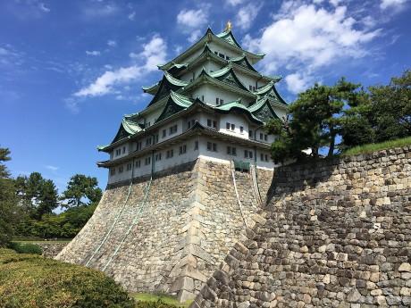 そびえ立つ和歌山城!