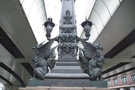 いざ日本橋の麒麟様にご挨拶して出発!