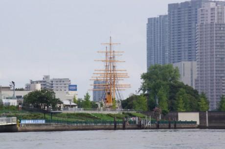 東京海洋大学の帆船