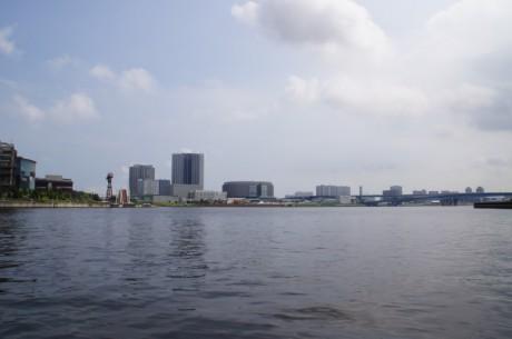 豊洲付近の風景