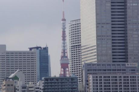 東京タワーも見えます!