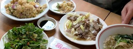 ドラマ『孤独のグルメ』探訪ツアー「台東区御徒町のラム肉長葱炒めとスペアリブ」